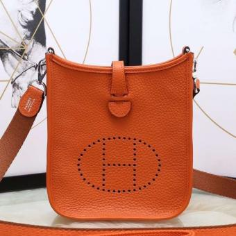AAA Hermes Orange Evelyne II TPM Messenger Bag
