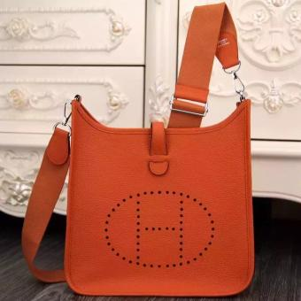 Hermes Orange Evelyne III PM Bag