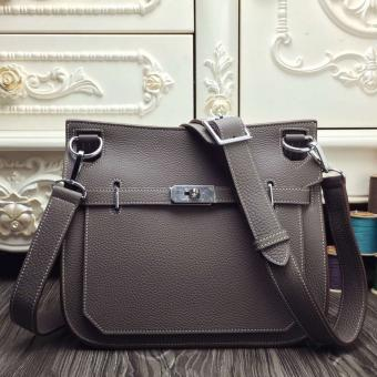 1:1 Hermes Grey Medium Jypsiere 31cm Bag