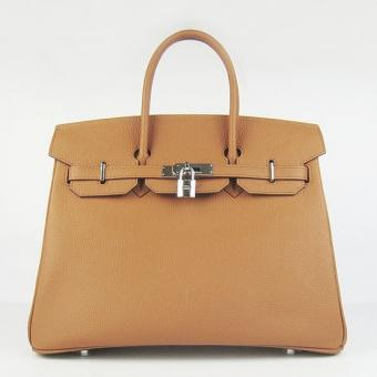 Best Replica Hermes Birkin 30cm 35cm Bag In Brown Togo Leather