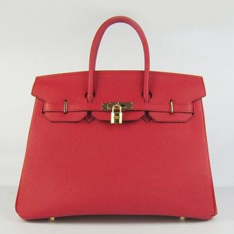 AAA Replica Hermes Birkin 30cm 35cm Bag In Red Togo Leather