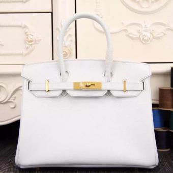 Hermes Birkin 30cm 35cm Bag In White Epsom Leather