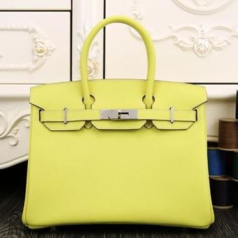 Designer Hermes Birkin 30cm 35cm Bag In Yellow Epsom Leather
