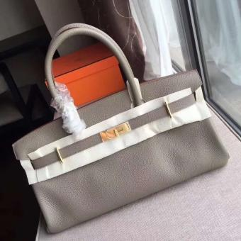 Best Cheap Hermes Grey JPG Birkin 42cm Shoulder Bag