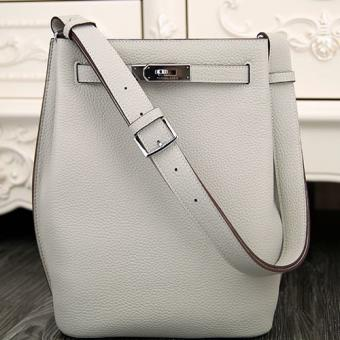 Replica AAA Hermes So Kelly 22cm Bag In White Leather