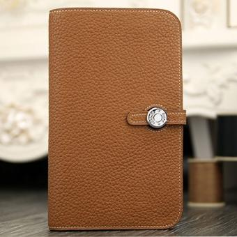 Replica Cheap Hermes Dogon Combine Wallet In Brown Leather