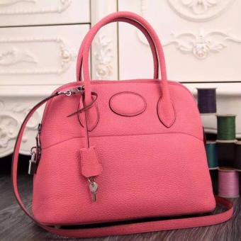 Perfect Replica Hermes Bolide Tote Bag In Pink Leather
