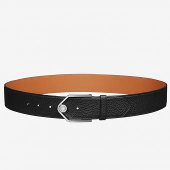 High Quality Replica Hermes Black Licol 40 MM Reversible Leather Belt