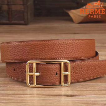 Cheap Hermes Brown Cape Cod 32 Reversible Belt