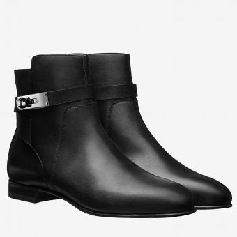 Hermes Black Neo Ankle Boots Replica