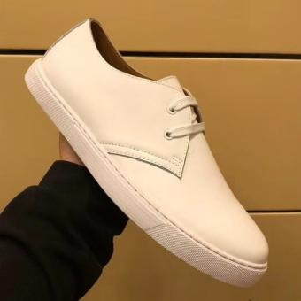 Knockoff Hermes One Sneaker In White Leather